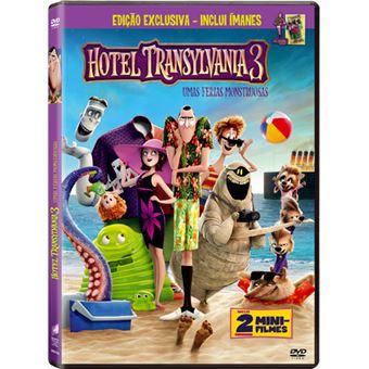 Hotel Transylvania 3 Umas Férias Monstruosas - Exclusivo Fnac - DVD + Ímanes