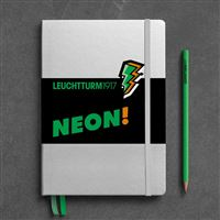 Caderno Pontilhado Leuchtturm A5 - Verde Neon