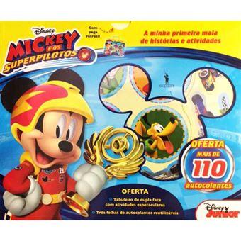 Mickey e os Super Pilotos: Mala de Atividades