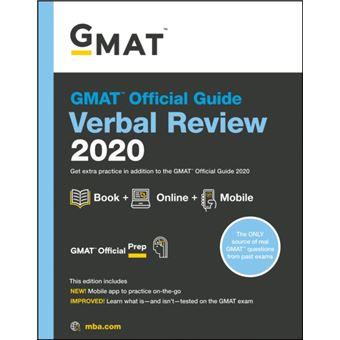 Gmat official guide 2020 verbal rev