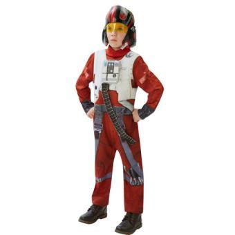 Disfarce Star Wars X-Wing Fighter - Tamanho L 7 a 8 Anos