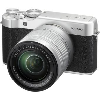 Fujifilm X-A10 + XC 16-50mm - Prateado