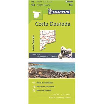 Mapa Michelin Zoom 148 - Espana: Costa Daurada