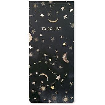 Bloco To Do List Pontilhado Go Stationery Nikki Strange - Constellations