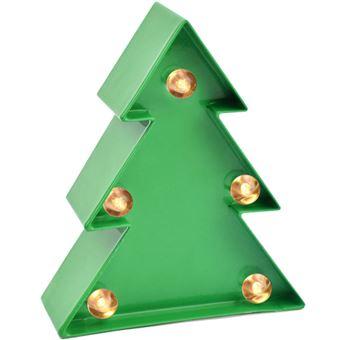 Luz Decorativa LED Mini - Árvore de Natal