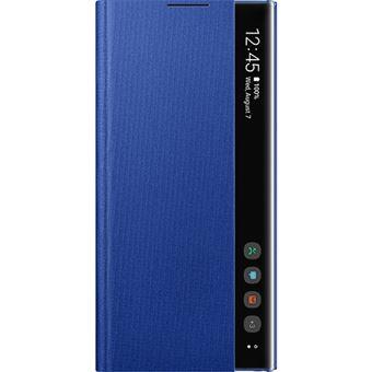 Capa Samsung Clear View para Galaxy Note10+ - Azul