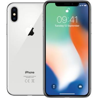 Apple iPhone X - 256GB - Prateado