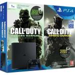 Consola Sony PS4 Slim 1TB + Call of Duty: Modern Warfare Remastered + Call of Duty: Infinite Warfare (Voucher)