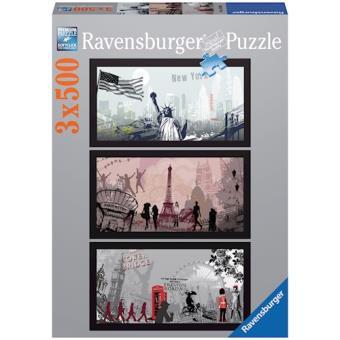 Ravensburger Artistieke steden 1500peça(s)