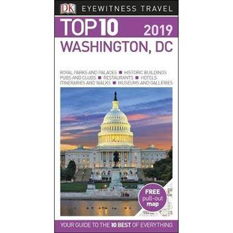 Eyewitness Top 10 Travel Guide - Washington, DC 2019