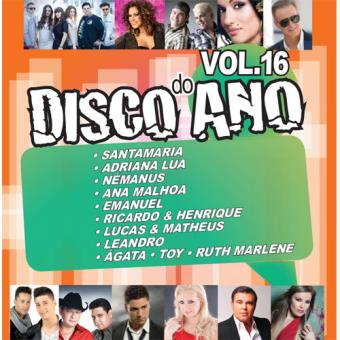 Disco do Ano Vol 16 - CD