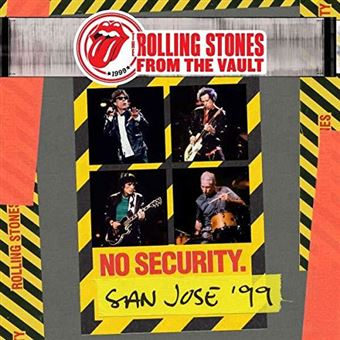 From The Vault: No Security - San Jose 1999 - DVD + 2CD