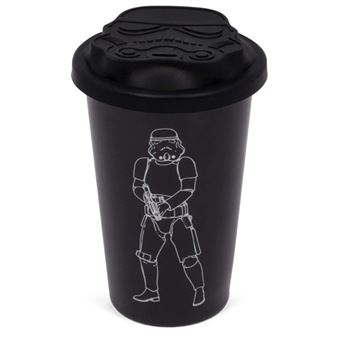Copo de Viagem Star Wars: Stormtrooper Black