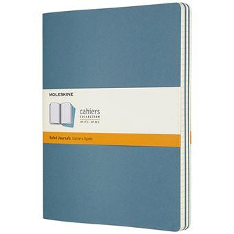 Caderno Pautado Cahier Moleskine XL - Azul Brisk
