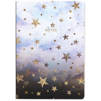 Caderno Pontilhado Go Stationery Nikki Strange A5 - Estrelas