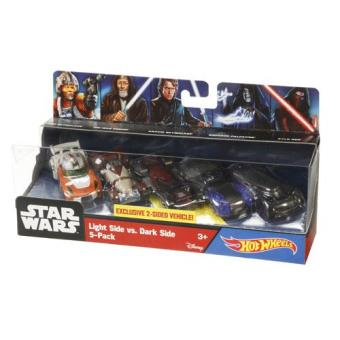 Hot Wheels Pack 5 Veículos Star Wars