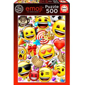 Puzzle Emoji - 500 Peças - Educa