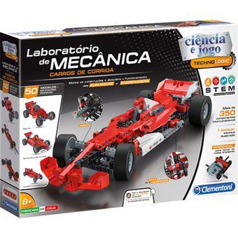 Laboratório de Mecânica: Carros de Corrida - Clementoni