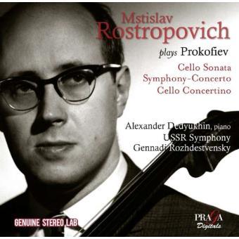 Mstislav Rostropovich plays Prokofiev