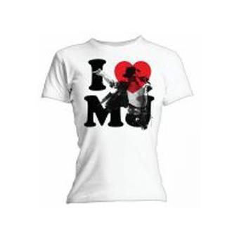 T-Shirt I Love MJ (M)