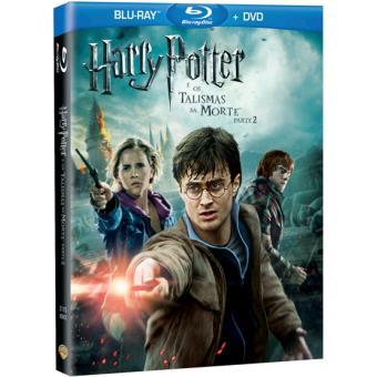 Harry Potter e os Talismãs da Morte: Parte 2 (Blu-ray + DVD)