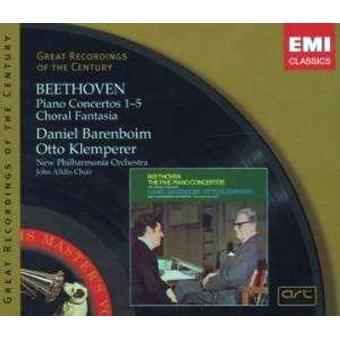 BEETHOVEN-PIANO CONCERTOS 1 E 5