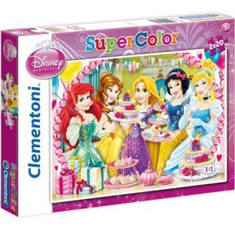 Puzzle Princesas Disney - 2 x 20 Peças