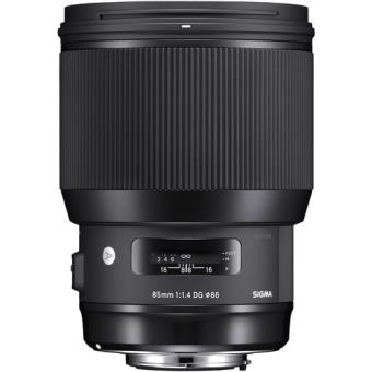 Objetiva Sigma 85mm f/1.4 DG HSM Art para Nikon