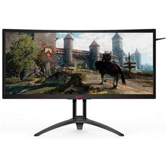 Monitor Gaming Curvo AOC UWQHD AG352UCG6 - 35''