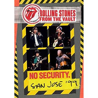 From The Vault: No Security - San Jose 1999 - Blu-ray