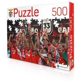 Puzzle Benfica - 500 Peças