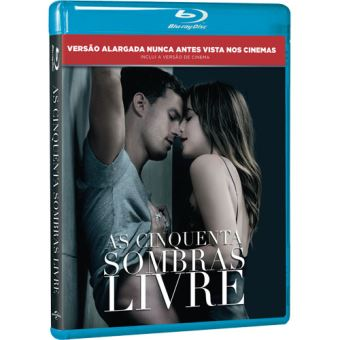 As Cinquenta Sombras Livre - Blu-ray