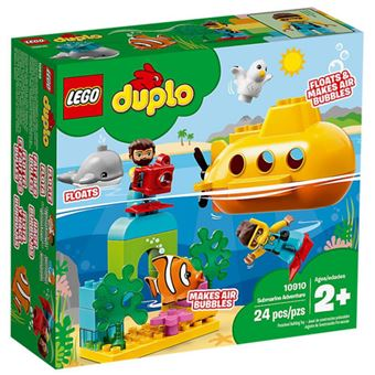 LEGO DUPLO Town 10910 Aventura de Submarino