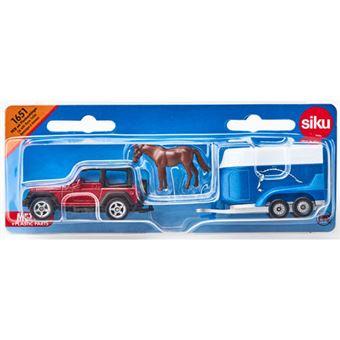 Carro com Reboque para Transporte Categoria D - Siku