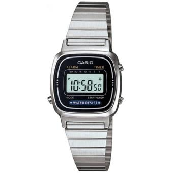 Casio Relógio Collection LA670WEA-1EF (Prateado/Preto)