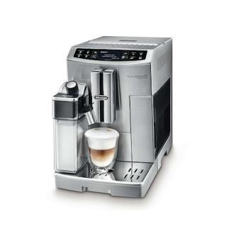 DeLonghi PRIMADONNA S EVO ECAM 510.55.M Independente Completamente automático Cafeteira de filtro Prateado