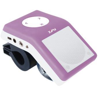 Zipy MP3 Sound Bike Junior 2GB Púrpura