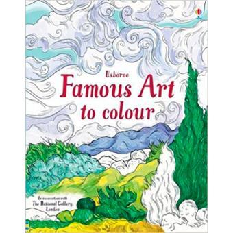 Famous Art to Colour