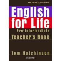 English for Life: Pre-intermediate - Teacher's Book