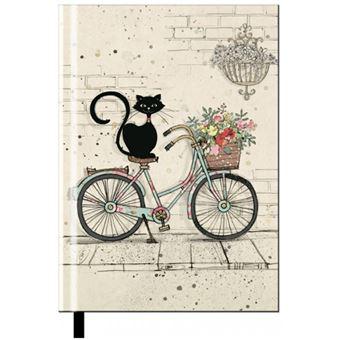 Caderno Pautado Chats - Bicicleta A6
