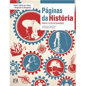 Páginas da História - História 8º Ano - Manual do Aluno