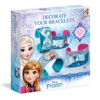 Frozen Disney 2 Pulseiras Brilhantes - Clementoni