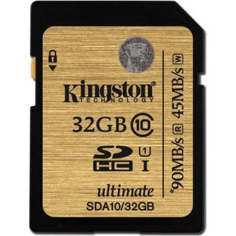 Kingston Cartão SDHC 32GB 90MB/45MB Classe 10