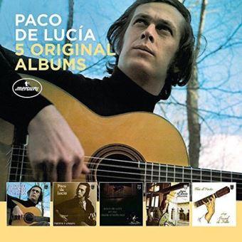 Paco de Lucía: 5 Original Albums - 5CD