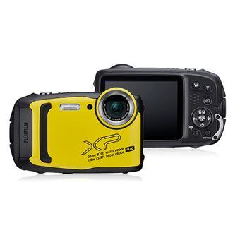 """Fujifilm FinePix XP140 Câmara compacta 16,4 MP 1/2.3"""" CMOS 4608 x 3456 pixels Preto, Amarelo"""