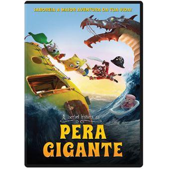 A Incrível História da Pêra Gigante - DVD