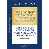 Das Wort-Ton-Verhaeltnis im Werk von Ludwig van Beethoven