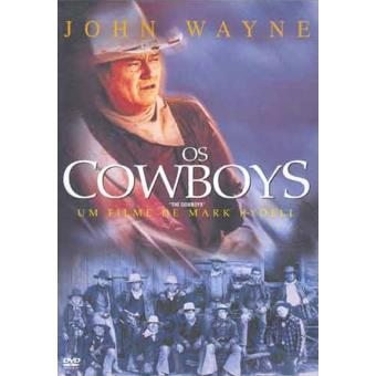 4f7a8693475db Os Cowboys - Edição Especial - Mark Rydell - John Wayne - Roscoe Lee ...