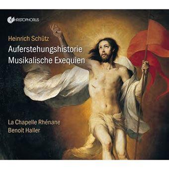 Schütz: Auferstehungshistorie & Muskalische Exequien - CD