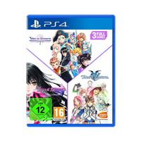 Pack Tales Of: Vesperia + Berseria + Zestiria - PS4
